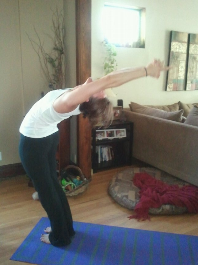 Yoga it out.